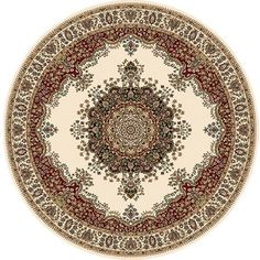 Home Dynamix Regency Collection 8329 Elegant and Stylish Area Rug, Beige