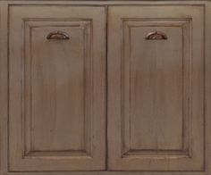 Square inset face frame construction with shaker style door and