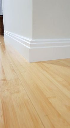 Finish your home with these Art Deco style Skirting Boards from Skirting Innovations, Perth. Baseboard Styles, Home Improvement, Deco, Skirting Boards, Home Renovation, Architrave, White Walls, Interior Design, Renovations