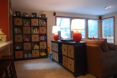 Nice Storage For Toys In The Living Room