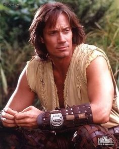 Kevin Sorbo...whom I also loved as a child and still do. Must be the long hair.