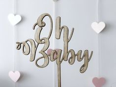 Baby Shower DIY Projects Thank You Tags, Thank You Gifts, Candy Cone, Buttercream Roses, Lindt Chocolate, Newborn Diapers, Letter Balloons, Rustic Theme, Party Stores