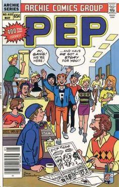 PEP 400, Archie Comic Publications, Inc. https://www.pinterest.com/citygirlpideas/archie-comics/