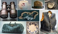 Titanic Artifacts on display. All Titanic artifacts should be owned by a museum to be preserved for historical purposes or owned by a direct descendent of the original owner of artifact aboard Titanic. These artifacts are precious and rare and tell the heroic, horrifying, and heart breaking stories of those who were on the ill fated ship.