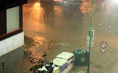Desde La Guancha y hasta La Laguna. El mal tiempo ha colapsado las carreteras del Norte de Tenerife. La lluvia que ha caído durante la pasada madrugada del 7 de noviembre en Tenerife ha provocado diversas incidencias en barrancos y carreteras de la isla. (Foto: Moisés Pérez)