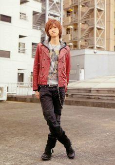 Japanese men's fashion Hiroki Aiba