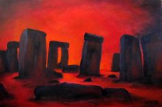 Stonehenge on the Last Day by Hilary Weeks