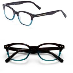 Kate Spade New York Rebecca 49mm Reading Glasses (938.640 IDR) ❤ liked on Polyvore
