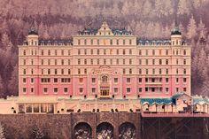 "Cine y Arquitectura: ""The Grand Budapest Hotel"" Maqueta"