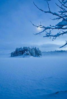 Winter blues ...