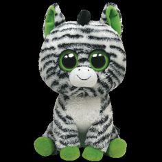 Medium Zebra Beanie Boo