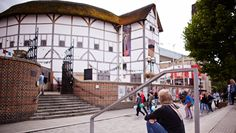 The Globe Theatre ... When it was being built in 1994, I bought thatch for the roof and put in the names of my very young nephews...