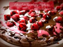 This Chocolate Raspberry Pavlova is both sugarless and low carb. Filled with raspberry curd and topped with sugarless chocolate sauce.
