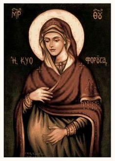 Κάνε ησυχία κόσμε, να ακούσεις τα σκιρτήματα του Νηπίου της Βηθλεέμ... Ρώτα όσες μάνες γεννούνε, γιατί χαίρονται και λάμπουν τα πρόσωπά... Blessed Mother Mary, Blessed Virgin Mary, Religious Images, Religious Art, Faith Of Our Fathers, Archangel Uriel, Christian Mysticism, Mom Prayers, Images Of Mary