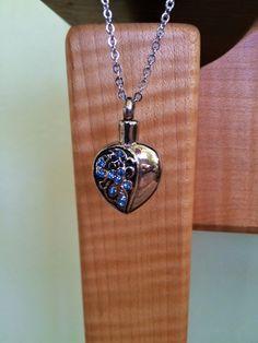 2X Colorful Enamel Cremation Keepsake Ashes Urn Pendant Necklace for Women