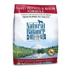 Natural Balance Sweet Potato and Bison Formula $14.72 to 59.84 at petsplususa.com