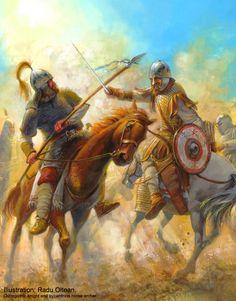 византиец и остгот