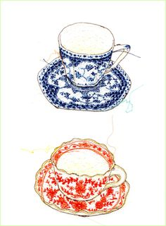 Miyuki Sakai Sewing Illustration