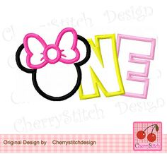 Onemouse Headminnie Embroidery