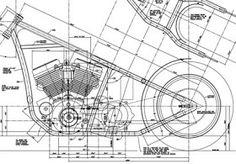 Fala ae choppeiros...   Nesse post iria disponibilizar desenhos técnicos de um quadro hardtail e um gabarito.     Clique nas imagens para ba...