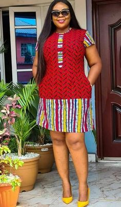 African Dresses For Kids, Latest African Fashion Dresses, African Dresses For Women, African Print Fashion, African Attire, African Tops For Women, African Print Dress Designs, African Design, African Wear Designs