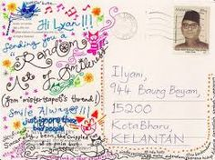 postcrossing example - Google Search