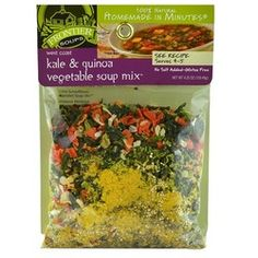Frontier Soups Kale Quinoa Vegetable Mix (8x4.25Oz)