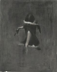 "Brilliant... Saatchi Online Artist Patrick Palmer; Painting, ""Crying Lightly"" #art- sadly beautiful"
