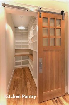 44 Newest Kitchen Storage Design Ideas With A Fancy Pantry - If you have a crowded pantry or just plain not enough kitchen storage, there are few ways you can keep your food better organized and more accessible. Kitchen Pantry Design, New Kitchen, Kitchen Ideas, Kitchen Pantries, Cozy Kitchen, Kitchen Sink, Pantry Storage, Kitchen Storage, Storage Spaces