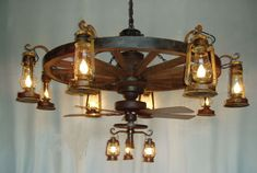 Old Fashioned Ceiling Fans With Mini Lantern
