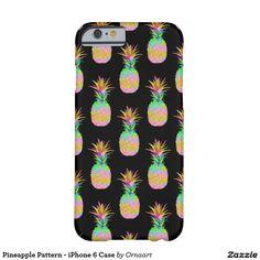 Pineapple Pattern - iPhone 6 Case