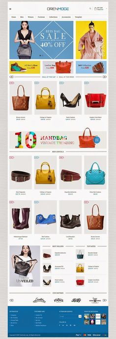 Best Responsive eCommerce Joomla Template 2015 #website #design #shop