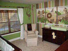 nursery idea these are cute color idea too for a boys room. :)