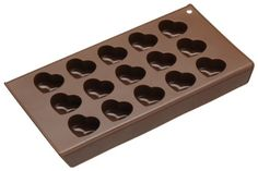 An ultra flexible multiple heart mold for making your own professional looking valentines inspired chocolates. It's fridge and freezer safe and dishwasher friendly. Made for easy release to give that perfect finish every time. This mold will make up to 15 bite sized chocolates in one go.     Find More Chocolate Moulds Products