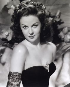 Susan Hayward, I think she is one of the most beautiful women ever