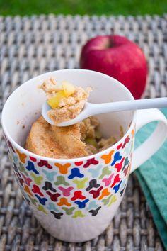 Mug Cake de Manzana | Mi Vida en un Dulce