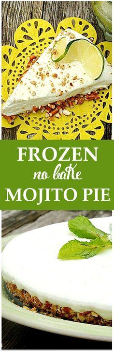 Frozen Mojito Pie -