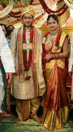 Couple Wedding Dress, Indian Wedding Couple, Indian Wedding Ceremony, Wedding Bride, Wedding Prep, Indian Weddings, Wedding Shoot, Wedding Attire, Bride Groom