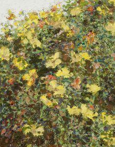 Yisrael Dror Hemed, Flowers, 2012, oil on canvas, 70x50 cm