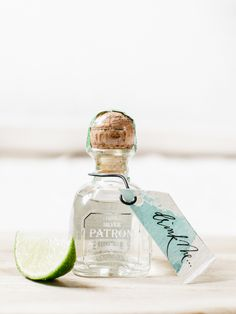 Mini tequila favors: http://www.stylemepretty.com/2016/04/29/cinco-de-mayo-wedding-party-theme/ | Photography: Allison Kuhn - http://allisonkuhnphotography.com/