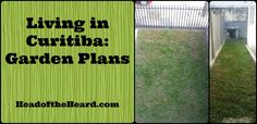 A small garden, but big plans in Curitiba, Brazil.
