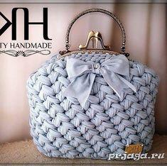 Crochet basket bag sewing patterns 23 ideas for 2019 Bag Patterns To Sew, Knitting Patterns, Sewing Patterns, Crochet Patterns, Crochet Handbags, Crochet Purses, Crochet Bags, Crochet Baskets, Bag Sewing