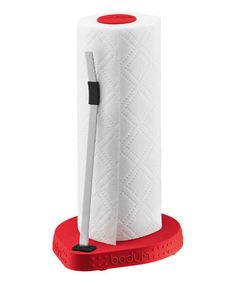 Another great find on #zulily! Red Paper Towel Roll Holder by BODUM #zulilyfinds