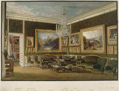 Salon des Dames du palais à Saint-Cloud, Jean-Baptiste Fortuné de Fournier