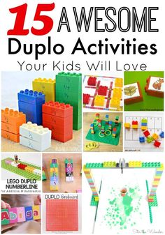 LEGO Duplo bricks are a wonderful toy for kids of all ages to play and learn…