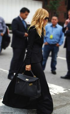 Rachel Zoe and the Black Maxi