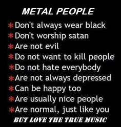 Metal people ♡