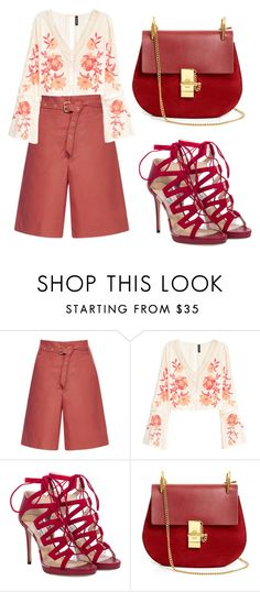 """""""Look Fabulous"""" by ella178 ❤ liked on Polyvore featuring Isabel Marant, Jimmy Choo, Chloé, outfit, fab and classy"""