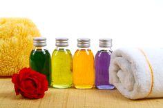 Shampoo Bottles - Rose, Towel, Red, Stone, Flower, Bottle, Shampoo, Perfume, Oil, Spa Stone