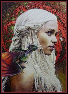 Mother of Dragons from Game of Thrones